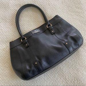 Kate Spade Pebbled Leather Large Shoulder Bag Tote